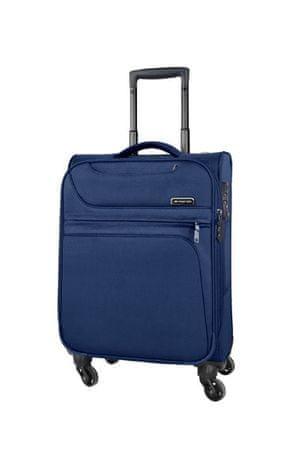 March Látkový cestovní kufr Focus 68,5/81,5 l tmavě modrá