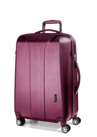March Cestovní kufr New Carat 72 l růžová
