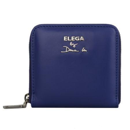 Elega By Dana M Dámská kožená peněženka Fiore 69120 modrá