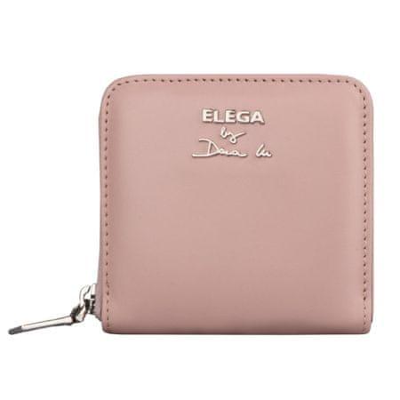 Elega By Dana M Dámská kožená peněženka Fiore 69120 světle růžová