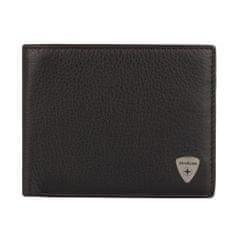 Strellson Pánská kožená peněženka Harrison 4010001047 tmavě hnědá