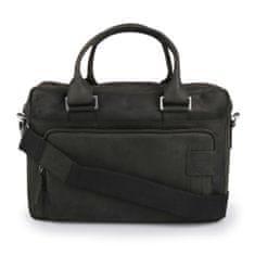 Strellson Pánská kožená taška Richmond 4010001265-900 černá