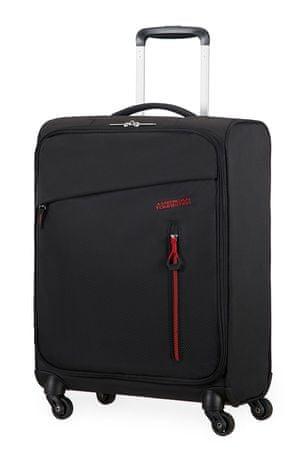 American Tourister Kabinový cestovní kufr Litewing Spinner 38G 41 l černá