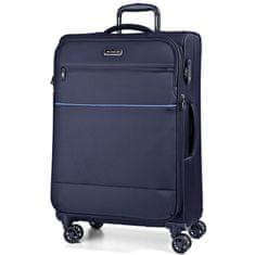 March Látkový cestovní kufr Easy 104/121 l