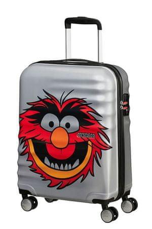American Tourister Kabinový cestovní kufr Wavebreaker Disney Spinner 31C 36 l Animal Sparkle