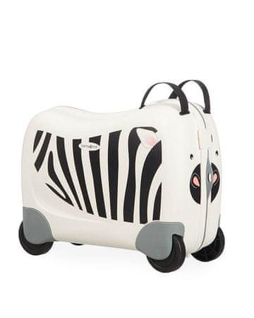 Samsonite Kabinový cestovní kufr Dream Rider CK8 25 l Zebra Zeno