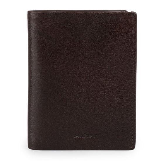 Maître Pánská kožená peněženka Bruschied Airbert 4060001532 tmavě hnědá
