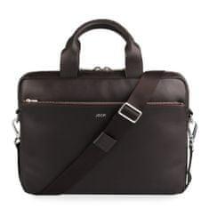 Joop! Pánská kožená taška na notebook Pandion 14'' 4140004470