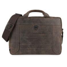 Strellson Pánská kožená taška přes rameno Hunter 4010002639