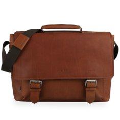 Strellson Pánská kožená taška přes rameno Turnham 2 4010002582