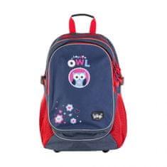 BAAGL Školní batoh Sovičky A-5328 24 l