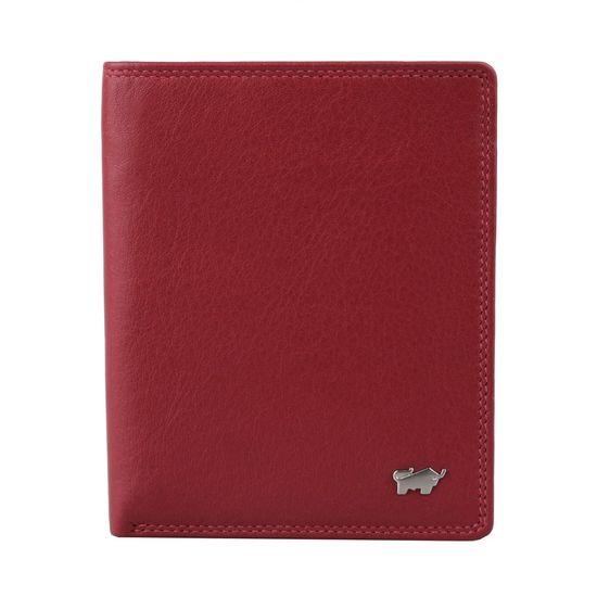 Braun Büffel Kožené pouzdro na doklady Golf 2.0 90448-051 tmavě červená