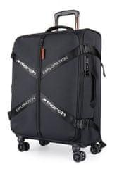 March Látkový cestovní kufr Exploration M 3834 69/79 l
