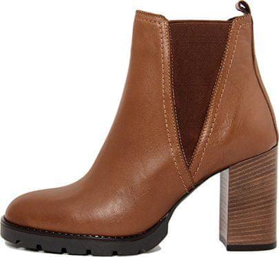 Gusto dámska členková obuv hnedá 36