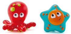 Hape Hračky do vody - striekacia chobotnica s hviezdicou