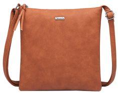 Tamaris Dámská kabelka LOUISE Crossbody Bag M Cognac