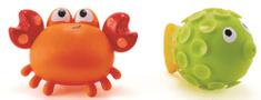 Hape Hračky do vody - striekací krab s rybkou