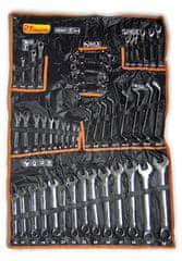 RICHMANN zestaw kluczy polerowanych, 47 elementów