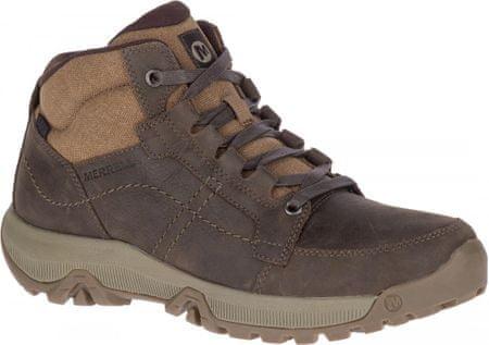Merrell Anvik Pace Mid Wtpf (J62509) moški pohodniški čevlji, rjavi, 43