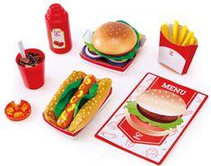Hape Fast Food komplet