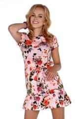 Merribel Dámské šaty model P30228 růžová - Merribel
