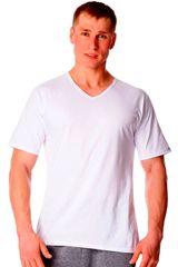 Cornette Pánské tričko 201 new plus white - CORNETTE