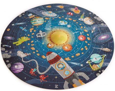 Hape puzzle dziecięce - Układ słoneczny LED