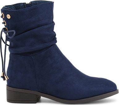 XTI dámská kotníčková obuv tmavě modrá 36