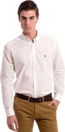 Polo Club C.H.A pánská košile bílá M