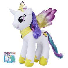 My Little Pony Pluszowy kucyk 25 cm z grzywą do czesania Celestia