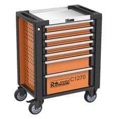 RICHMANN Montážní vozík na nářadí 7 zásuvek, 268 ks