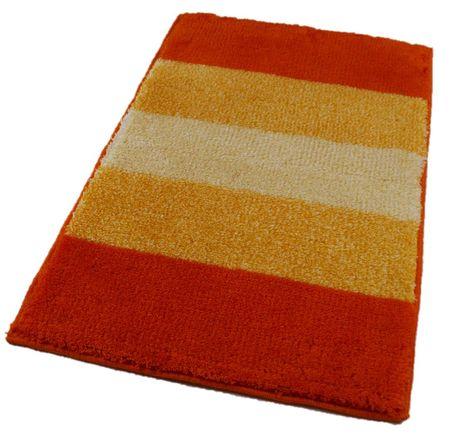 ROUTNER Fürdőszoba-szőnyeg, cseh produkció, BARLETTA Narancssárga - 60 x 100 cm