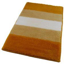 ROUTNER Fürdőszoba-szőnyeg, cseh produkció, BARLETTA Sárga