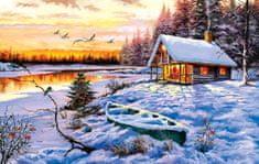 SunsOut Log Cabin 550 dielikov