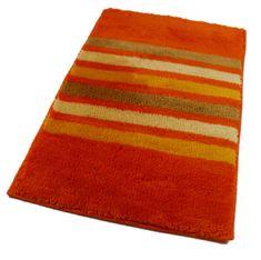 ROUTNER Fürdőszoba-szőnyeg, cseh produkció, RAGUSA Narancssárga
