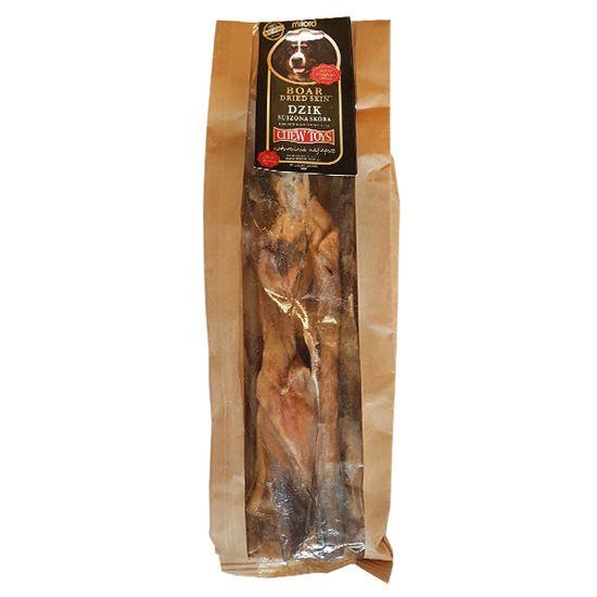 Milord Žvýkací pamlsky pro psa kůže z divočáka 400g