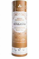 Ben & Anna Tuhý deodorant BIO 60 g - Indická mandarinka