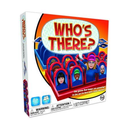 družabna igra, kdo se tam skriva/Who's there