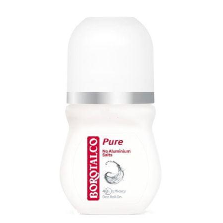 Borotalco 48H Pure deodorant, roll-on, 50 ml
