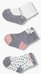 Losan dívčí set tří párů ponožek