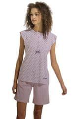 Noi Di Notte Dámské krátké pyžamo FA6755 červená - Noidinotte