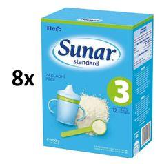 Sunar Standard 3, 8x500g
