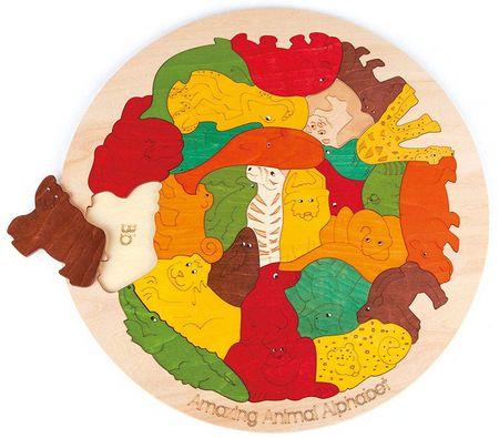 Hape Puzzle - Úžasná zvířecí abeceda