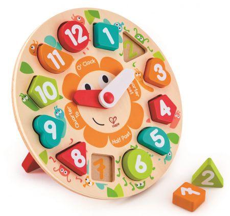 Hape puzzle ura z zabavnimi žužki