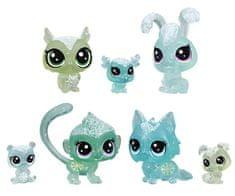 Littlest Pet Shop Állatkák a Jégvarázsból, 7 db, zöld
