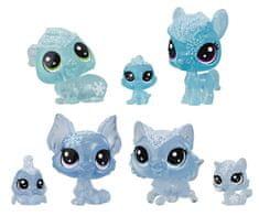 Littlest Pet Shop Állatkák a Jégvarázsból, 7 db, kék