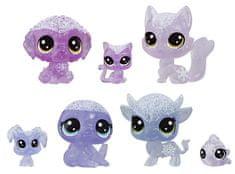 Littlest Pet Shop Állatkák a Jégvarázsból, 7 db, lila