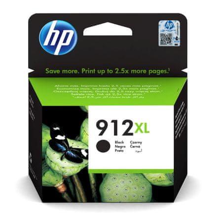 HP 912XL, černá (3YL84AE)