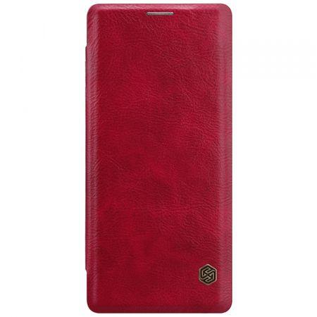 Nillkin Nillkin torbica Qin za Samsung Galaxy A10 A105, preklopna, crvena