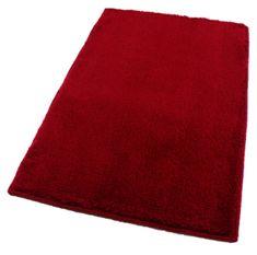 ROUTNER Fürdőszoba-szőnyeg, cseh produkció, UNI COLOR Piros